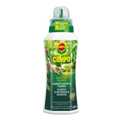 Compo vloeibare meststof Kamerplanten & Palmen 500ml