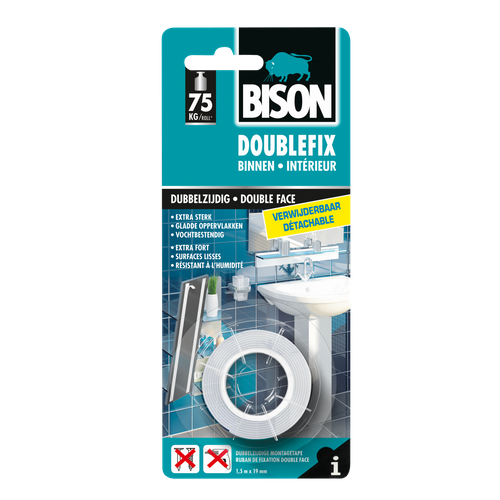 Bison Doublefix Removable 1,5m
