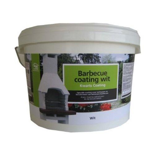 Decor betonnen barbecue coating wit 8kg