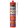 Bison Poly Max High Tack wit 430gr