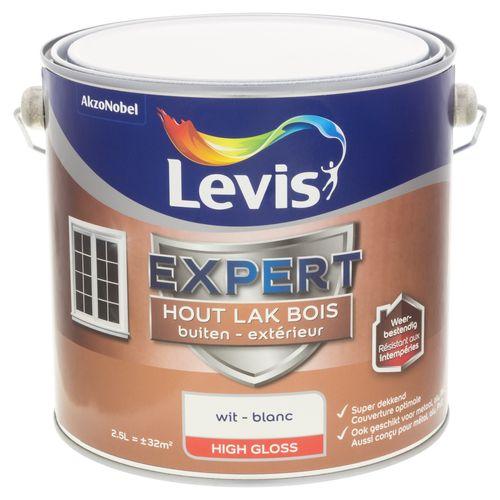 Laque Levis Expert blanc brillant 2,5L