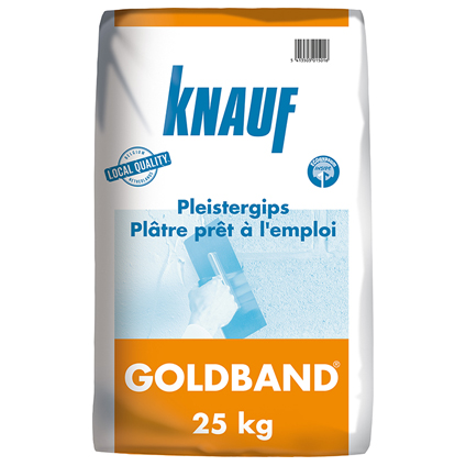 Knauf pleister 'Goldband' 4 kg