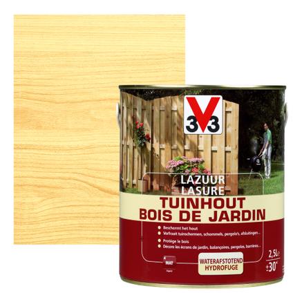 Lasure bois de jardin V33 inColore mat 2,5L