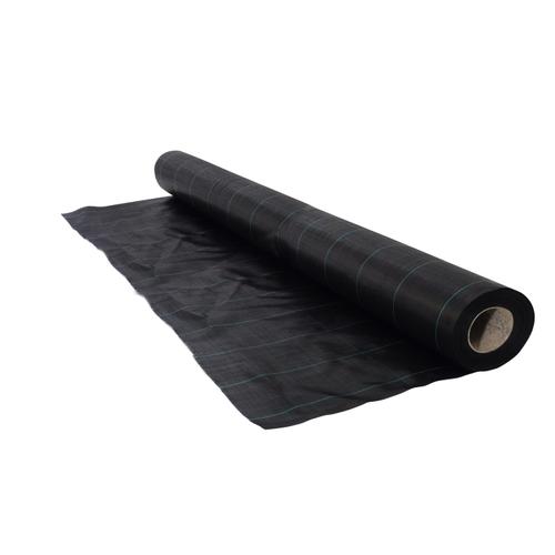 Nature gronddoek zwart 2,1 x 25 m