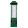 Thermomètre à mur Nature 'Kelvin 15' vert