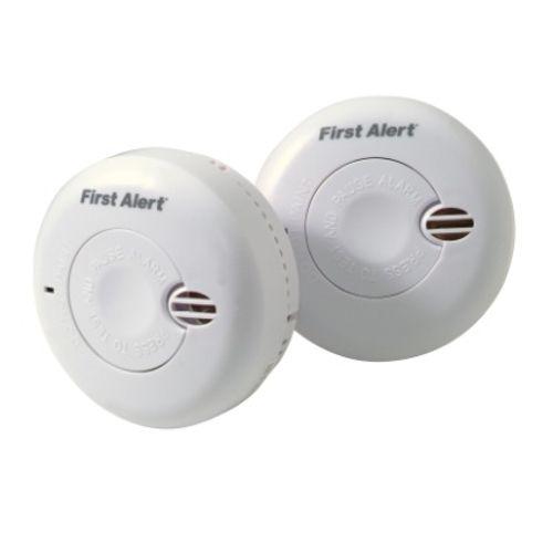 First Alert rookmelder 'Mini' duopack 1,5 V - 2 stuks