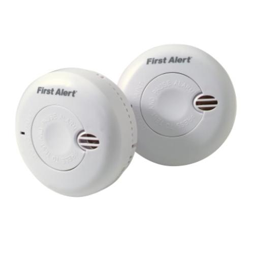 Détecteur de fumée First Alert 'Mini' duopack 1,5 V - 2 pcs