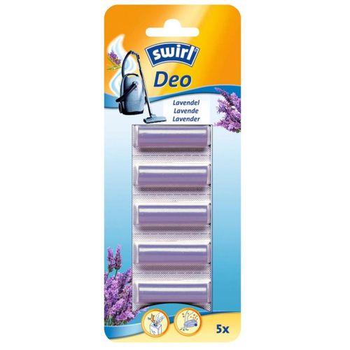 Deo stick lavande pour sac aspirateur Swirl - 5 pcs