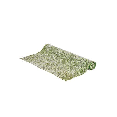 Tapis d'herbe enneigée 120x47cm