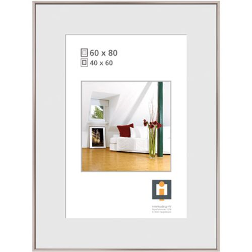 Intertrading fotolijst zilver 60 x 80 cm