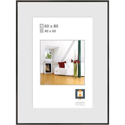 Intertrading fotolijst zwart 60 x 80 cm