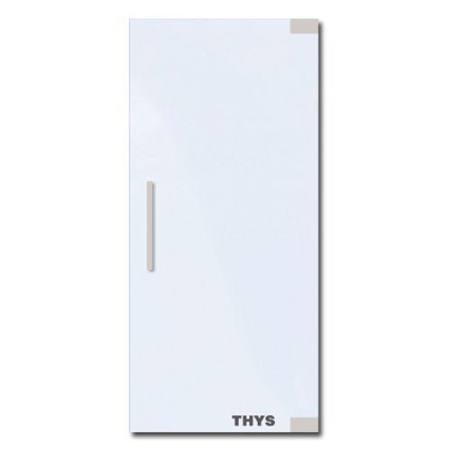 Porte en verre sécurit Thys 'Thytan Prof' mat 201x83cm