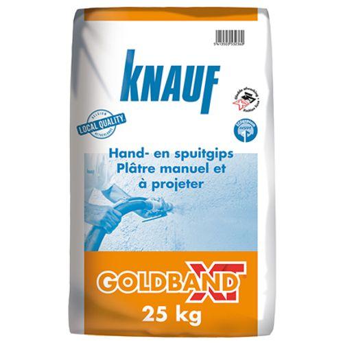 Knauf pleister 'Goldband XT' 25 kg