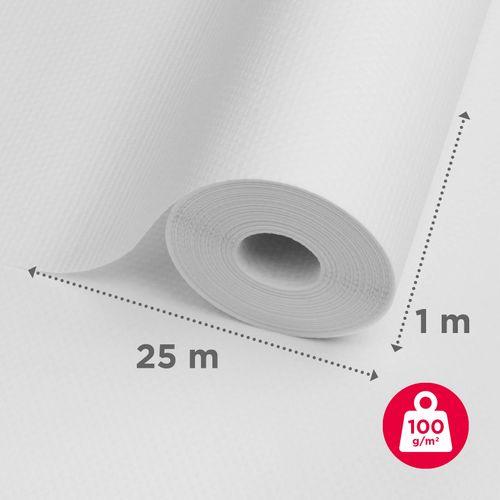 Baseline glasweefselbehang ruit groot 25m
