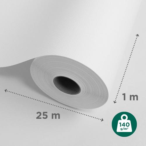 Sencys glasweefselbehang ruit klein 25m