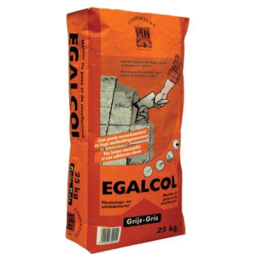 PTB-compaktuna mortel 'Egalcol' grijs 25 kg
