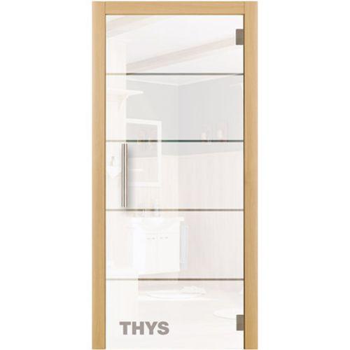 Porte en verre sécurit Thys 'Thytan Everyway' 1510 211x83cm