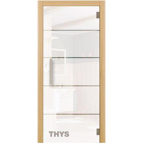 Porte en verre sécurit Thys 'Thytan Everyway' 1510 211x88cm