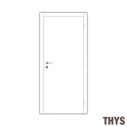 Thys deurkast te verven 'Mdf N°1' inox 40cm