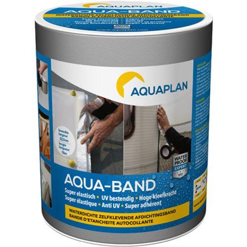 Aquaplan afdichtingsband 'Aqua-band' grijs 10 m x 22,5 cm