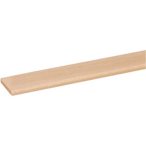 Couvre-joint JéWé '635' bois dur blanc 240 cm