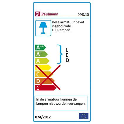 Paulmann inbouwspot LED 10 x 0,25 W