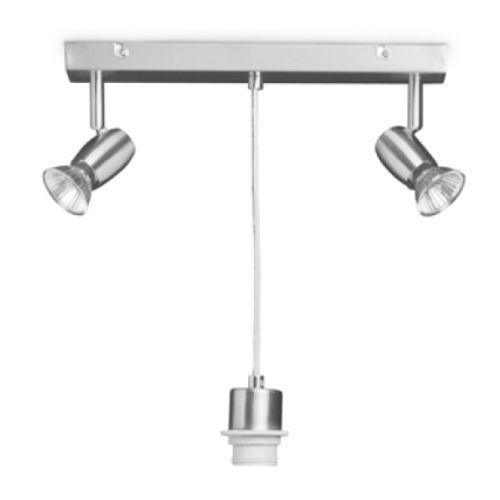 Home Sweet Home hanglamp Oya zilver 60W