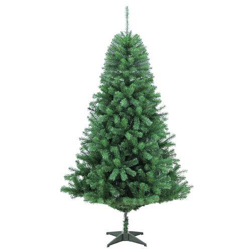 Sapin de Noël artificiel Central Park Canadian Deluxe vert 210cm