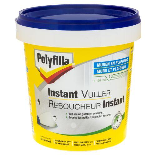 Polyfilla reparatiepasta voor muur en plafond Instant 1kg