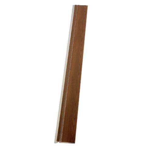 Lamelle pour porte accordéon Grosfillex 'Axia' PVC teck 205 x 145 cm