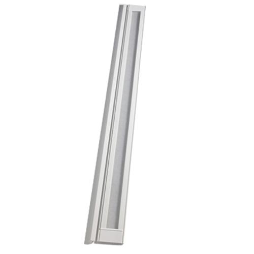 Lamelle pour porte accordéon Grosfillex 'Larya' PVC blanc 205 x 145 cm