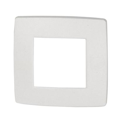 NIKO Enkelvoudige afdekplaat Original White