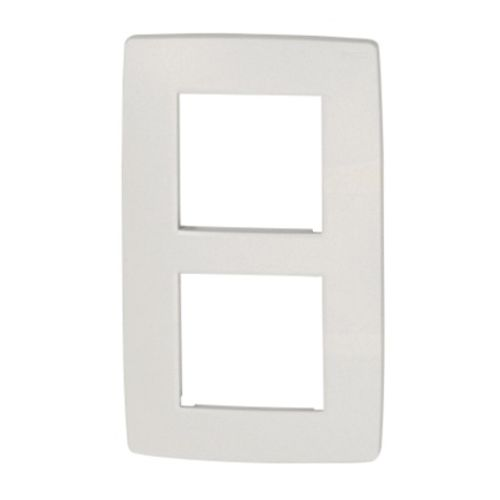 NIKO Plaque double verticale Original White