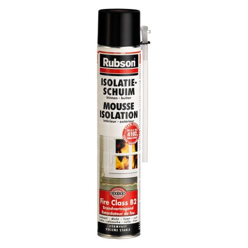 Mousse d'isolation Rubson Retardateur de feu 750ml