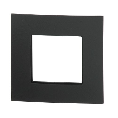 Plaque simple Niko 'Intense' anthracite