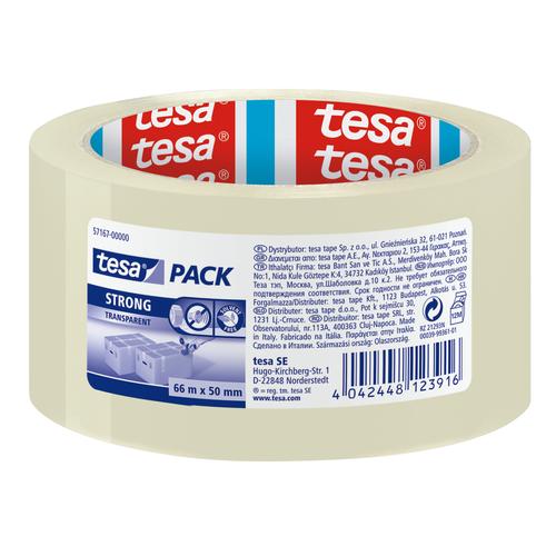 Tesa Pack verpakkingstape Strong transparant
