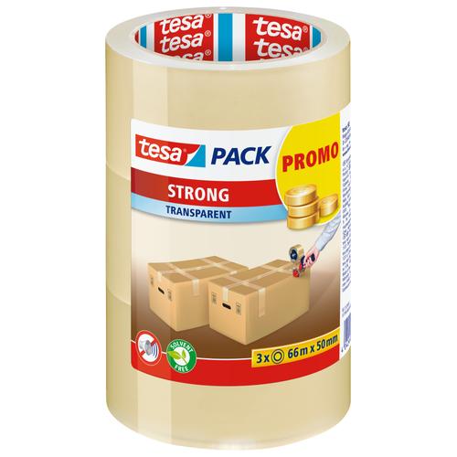 Tesa Pack verpakkingstape Strong transparant 3 stuks