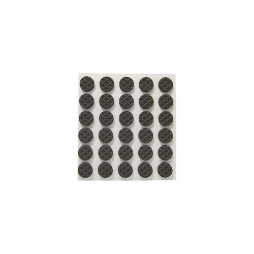 Pastilles adhésives anti-dérapantes Sencys noir Ø 9 mm - 30 pcs