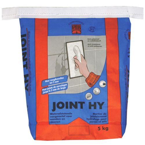 Mortier de jointement hydrofuge PTB-compaktuna 'Joint HY' 5 kg