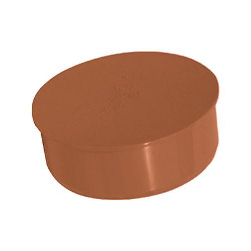 Martens afsluitkap PVC rood 110 mm