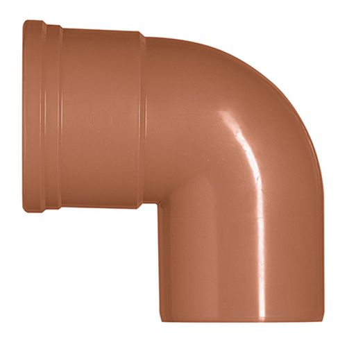 Martens hulpstuk PVC rood 87° 125 mm