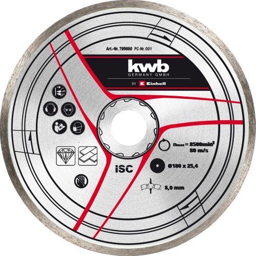 Disque diamant Einhell 180 mm