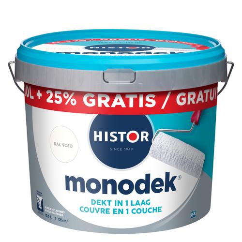 Histor latex Monodek mat RAL 9010 10L + 2,5 liter