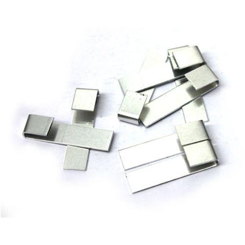 Clips de verre ACD 'S' aluminium – 20 pcs
