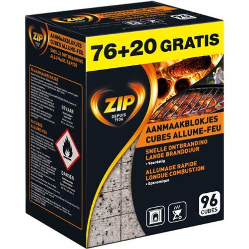 Zip aanmaakblokjes 'Energy Original' - 96 stuks