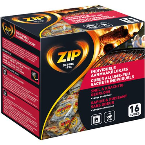Allume-feu Zip 'Energy' - 16 pcs