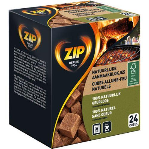 Allume-feu Zip 'Natural' - 24 pcs