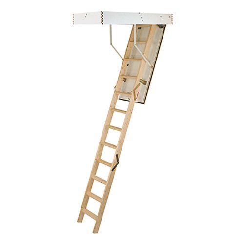 Escalier escamotable Sogem 'Isowood' 3 x 4 marches