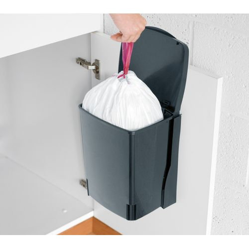 Brabanita afvalemmer Built-In Bin black 10L