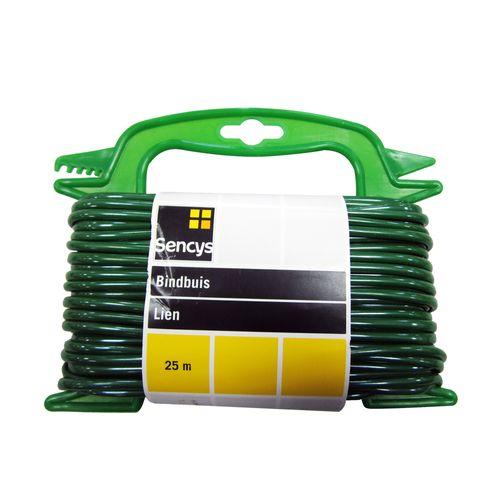 Sencys waslijn koord PVC groen Ø 4 mm x 25 m